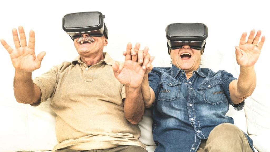 Can Virtual Reality Engage Adults with Dementia