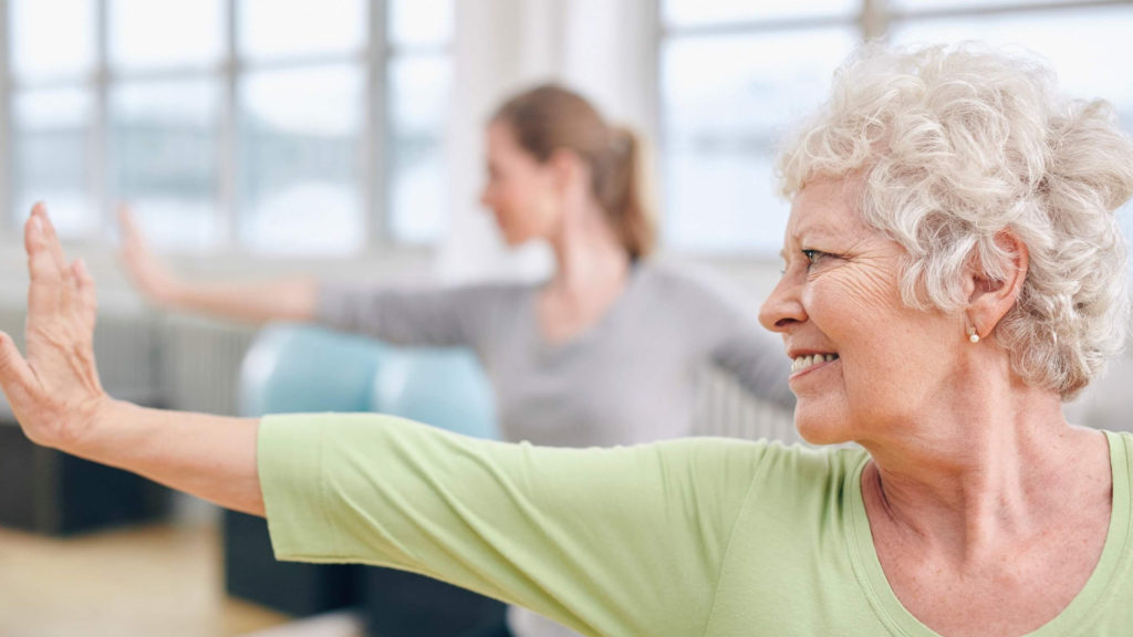 Yoga for Seniors: Mindful Chair Yoga Poses and Coherent Breathing