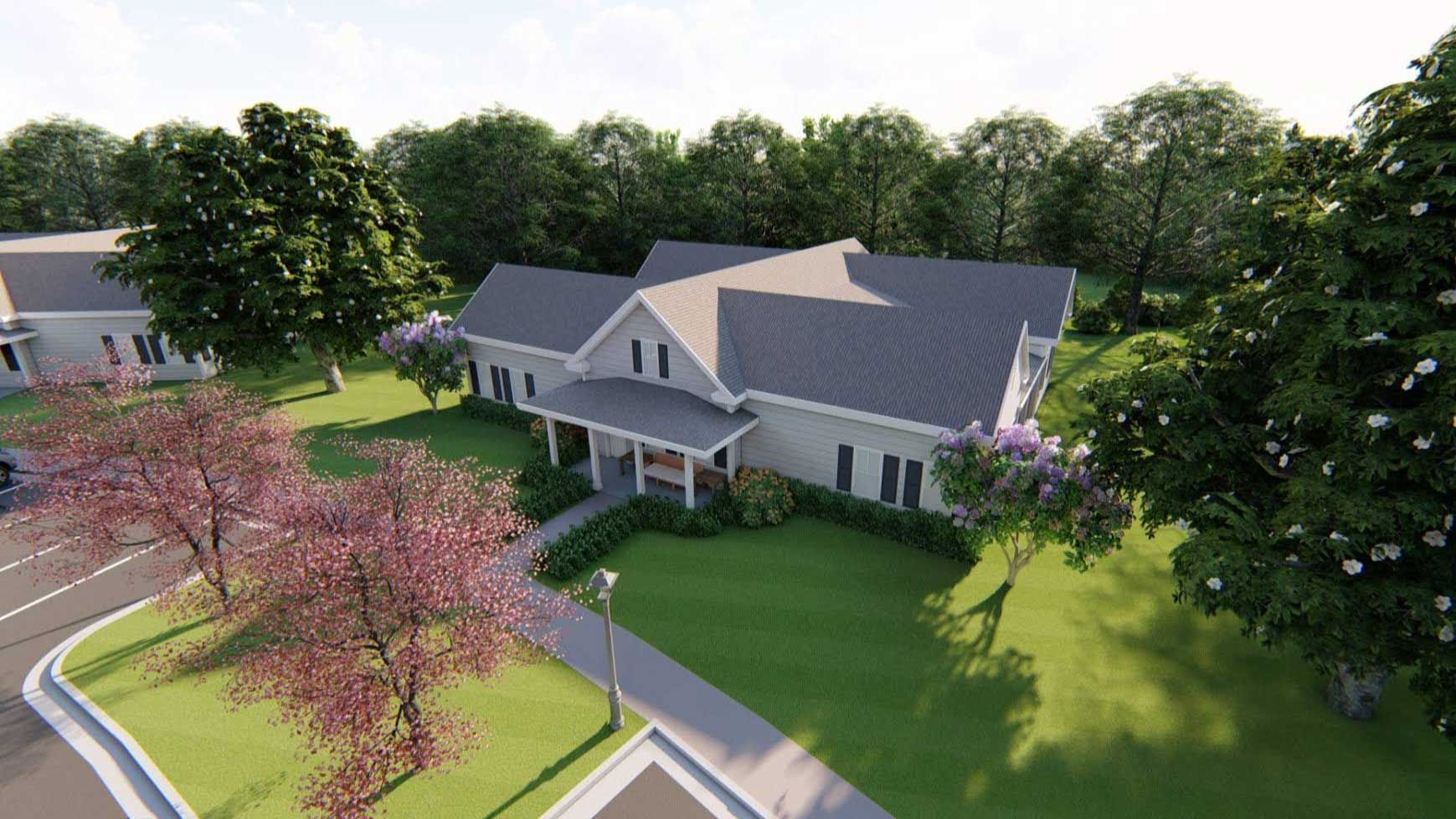 Vitality Living Madison Villa Render