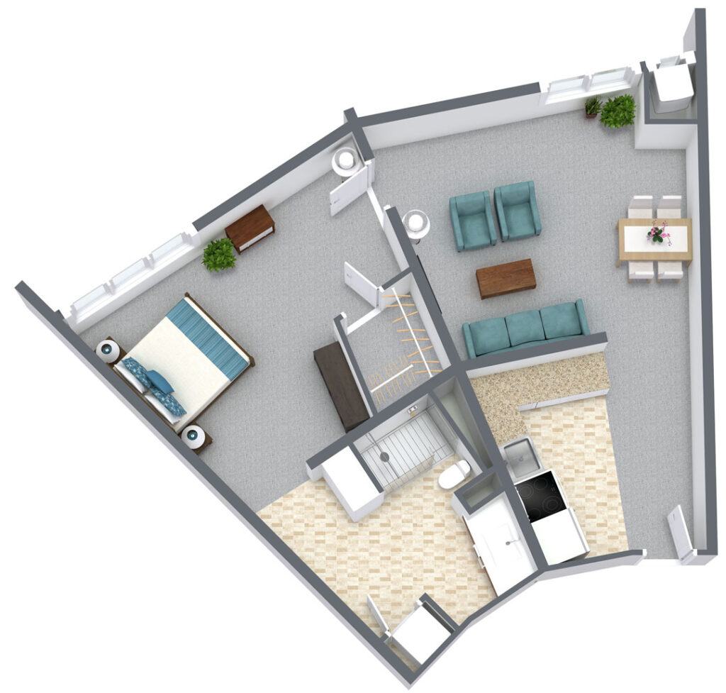 Copeland-Tower-Layout-A-left-furnished-3D-Floor-Plan