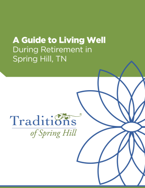 Vitality -Local Guide Spring Hill cover